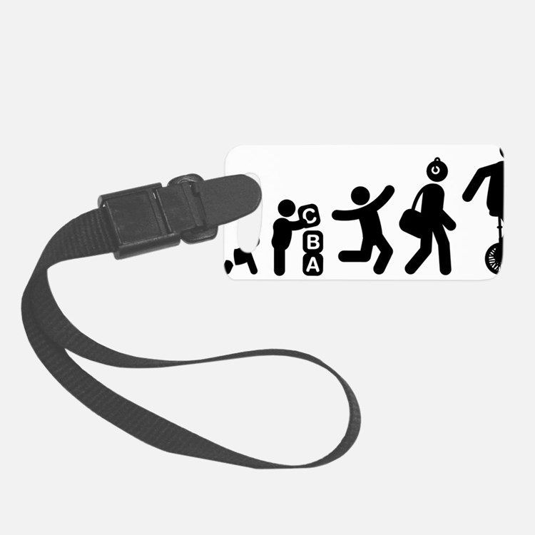 Unicycle-Rider-AAG1 Luggage Tag