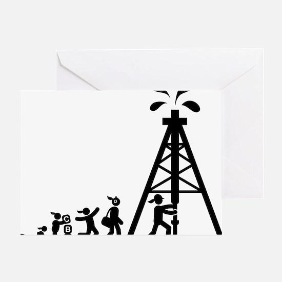 Oil-Driller-AAI1 Greeting Card