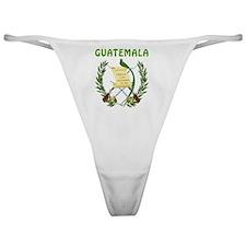 Guatemala Coat Of Arms Classic Thong