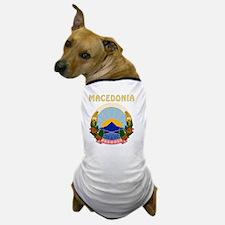 Macedonia Coat Of Arms Dog T-Shirt