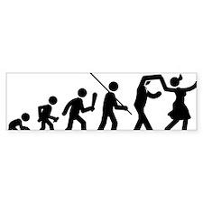 Swing-Dancing-AAF1 Bumper Sticker