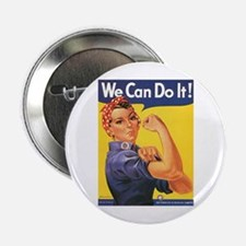 Women We Can Do It! Button