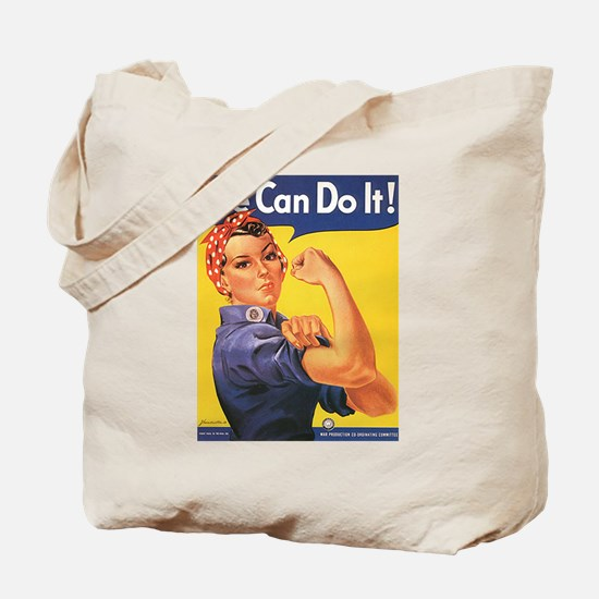 Women We Can Do It! Tote Bag