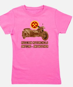 Russian Motorcycle: Anytime - any weath Girl's Tee