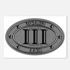 Molon Labe Oval Postcards (Package of 8)