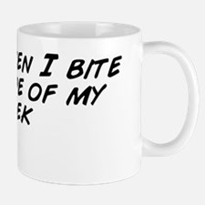 I hate when I bite the inside of my che Mug