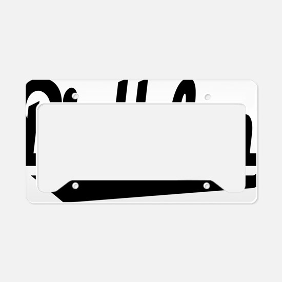 biathlon License Plate Holder