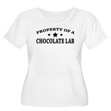 Property of Chocolate Lab T-Shirt