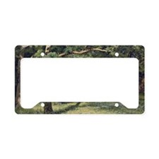 Ivan Shishkin The Forest Clea License Plate Holder
