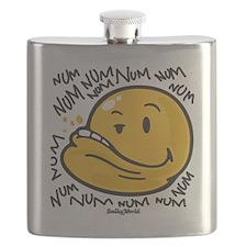Num Smiley Flask