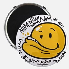 Num Smiley Magnet
