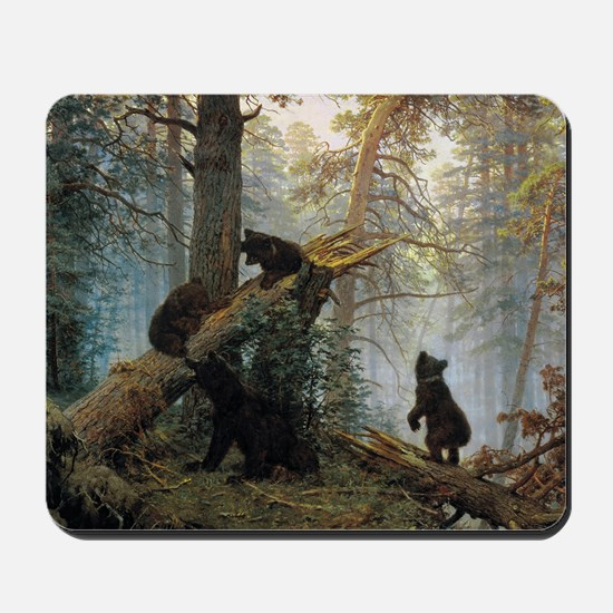 Ivan Shishkin Morning In A Pine Forest Mousepad