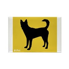 Canaan iPet Rectangle Magnet (100 pack)
