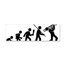 Trombone-Player-AAF1 Car Magnet 10 x 3
