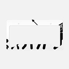 Trombone-Player-AAF1 License Plate Holder