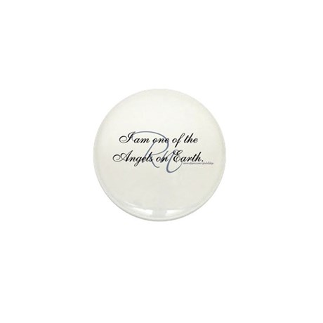 """I am an Angel"" Mini Button (100 pack)"