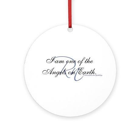 """I am an Angel"" Ornament (Round)"