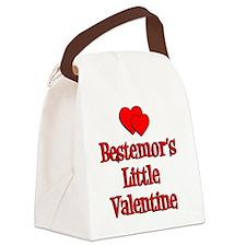 Bestemors Little Valentine Canvas Lunch Bag