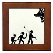 Skydiving-AAH1 Framed Tile