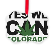 Yes We Can Colorado Ornament