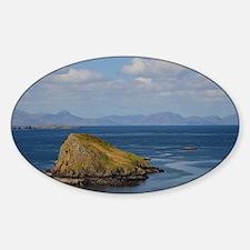 scotland yard Sticker (Oval)