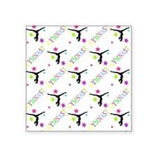 "Shower Curtain Square Sticker 3"" x 3"""