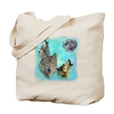 Wolves Siney Grim Moon 0 Tote Bag