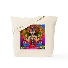 Guitar Goddess Tote Bag