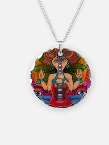Guitar Goddess Necklace