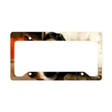 Jack Russell Terrier Puppy Ch License Plate Holder