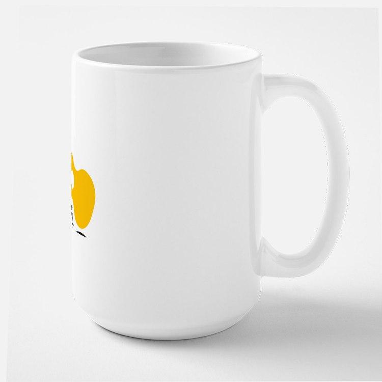 Uke Fist Large Mug