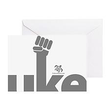 Uke Fist Greeting Card