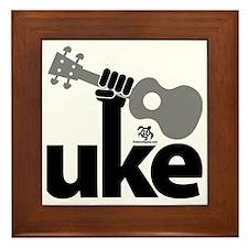 Uke Fist Framed Tile
