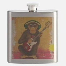 Funky Monkey Bass Player Flask