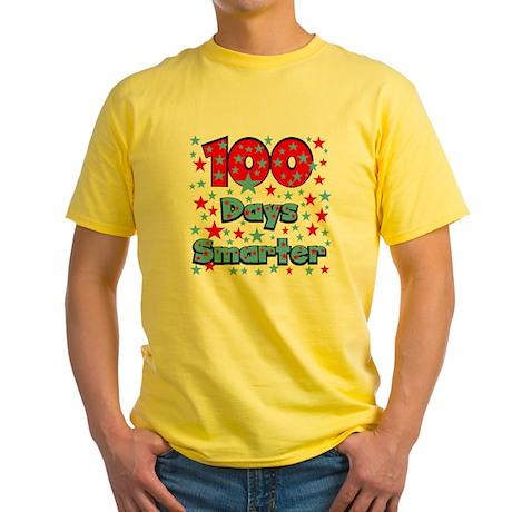 100 Days Smarter Yellow T-Shirt
