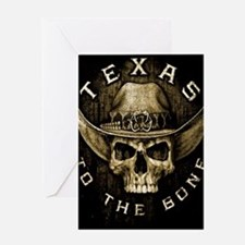 Texas to the bone Greeting Card