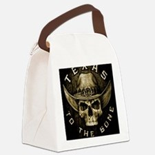 Texas to the bone Canvas Lunch Bag