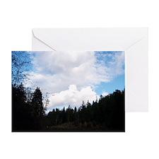 eelriverking_duvet Greeting Card