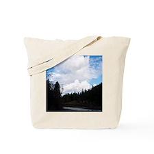 eelriverking_duvet Tote Bag