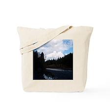 eelriveralloverprintwomensshirt Tote Bag