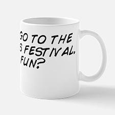 I wanna go to the asparagus festival. I Mug