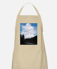 Eel River With Clouds Apron
