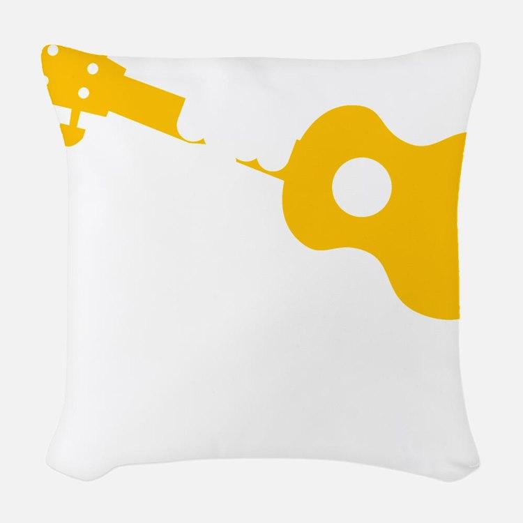 Uke Fist Woven Throw Pillow