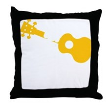 Uke Fist Throw Pillow