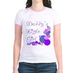 Daddy's Little Girl Jr. Ringer T-Shirt