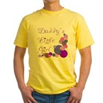 Daddy's Little Girl Yellow T-Shirt