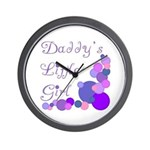 Daddy's Little Girl Wall Clock