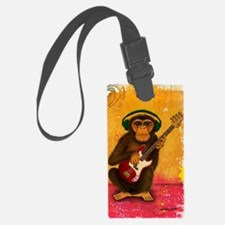 Funky Monkey Bass Player Luggage Tag