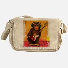 Funky Monkey Bass Player Messenger Bag