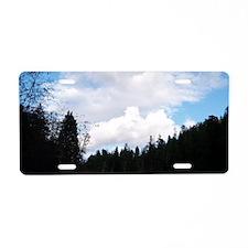 shoulderbageelriver Aluminum License Plate